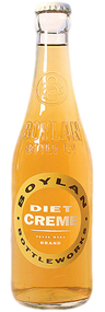 Boylan Diet Creme Soda in 12 oz. glass bottles for Sale