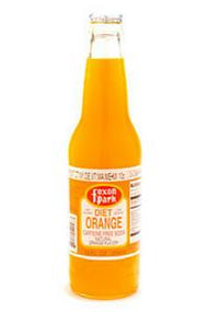 Foxon Park Diet Orange Soda in 12 oz. glass bottles for Sale at SummitCitySoda.com
