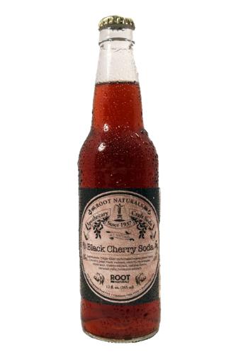 Root Naturals Apothecary Black Cherry Soda - 12 pack of 12 oz glass bottles at SummitCitySoda.com