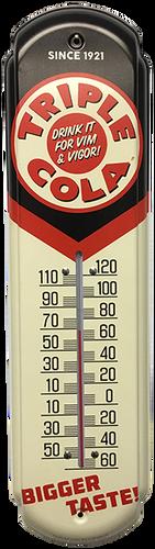 Triple Cola Vintage Thermometer at SummitCitySoda.com