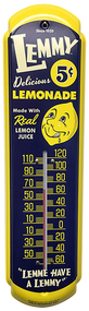 Lemmy Lemonade Vintage Thermometer from SummitCitySoda.com