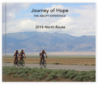 2018 Journey of Hope North Route Memory Book