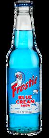 Frostie Blue Cream Soda in 12 oz. glass bottles for Sale