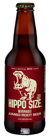 Hippo Jumbo Root Beer in 12 oz. glass bottles for Sale