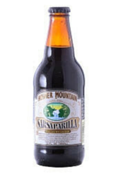 Hosmer Mountain Antique Sarsaparilla in 12 oz. glass bottles for Sale at SummitCitySoda.com