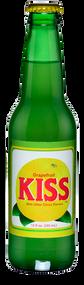 Kiss Grapefruit Soda in 12 oz. glass bottles for Sale