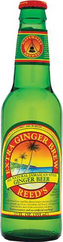 Reed's Extra Ginger Brew in 12 oz. glass bottles for Sale