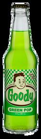 Goody Green Pop in 12 oz. glass bottles for Sale