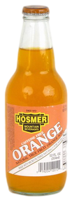 Hosmer Mountain Orange Soda in 12 oz. glass bottles for Sale