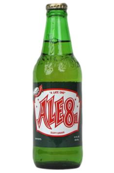 Ale-8-One Soda in 12 oz. glass bottles for Sale