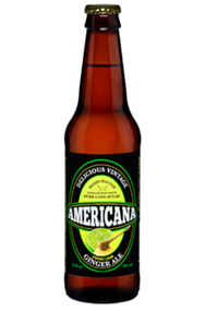 Americana Honey Lime Ginger Ale in 12 oz. glass bottles for Sale
