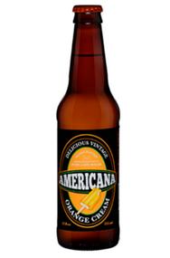 Americana Orange Cream Soda in 12 oz. glass bottles for Sale