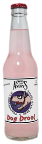 Avery's Totally Gross Dog Drool Soda in 12 oz. glass bottles for Sale