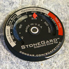 StoneGard Stove Top Thermometer for Soapstone Wood Stoves