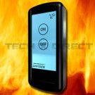 Skytech 5001 Fireplace Remote Touch Screen ON/OFF