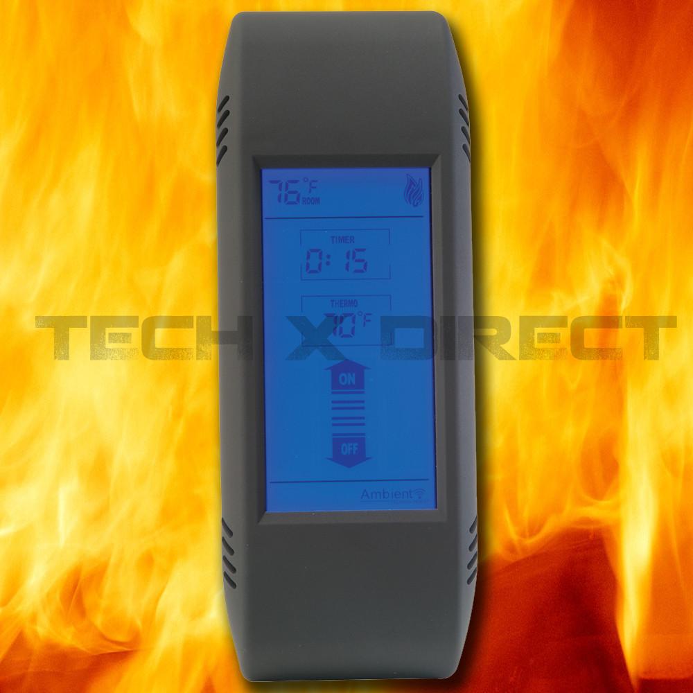 Cool Ambient Technologies Tsst Fireplace Remote Thermostat On Off Timer Touch Screen Interior Design Ideas Oteneahmetsinanyavuzinfo