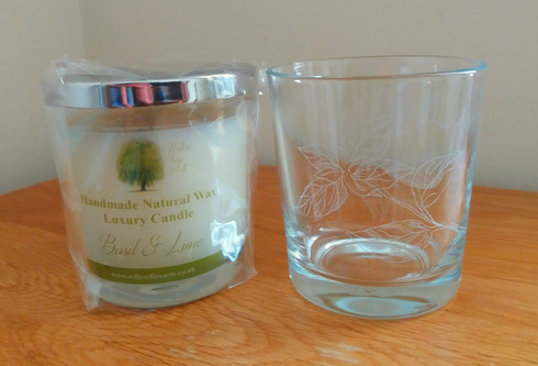 Basil & Lime Luxury Candle