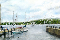Ambleside Marina - Large Collector's Print