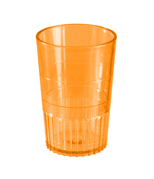 Bulk Plastic Shot Glasses | Orange Colour