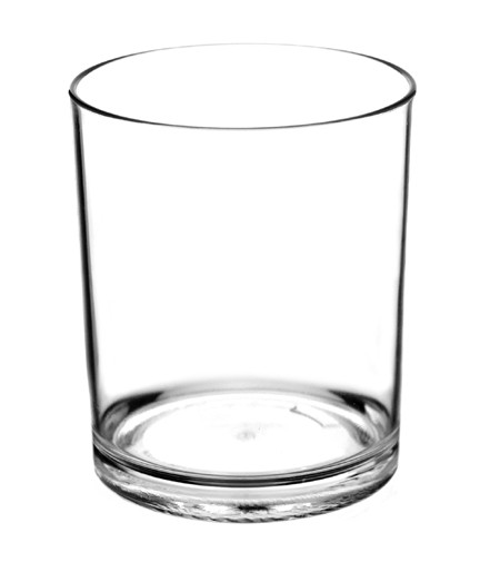 14oz Double Rocks Tumbler - for elegant poolside, outdoor, and commercial use.