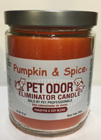 Pumpkin Spice Pet Odor Eliminator Candle