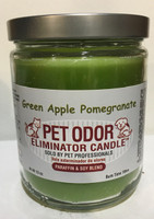 Green Apple Pomegranate Pet Odor Eliminator Candle
