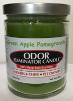 Green Apple Pomegranate Odor Eliminator Candle