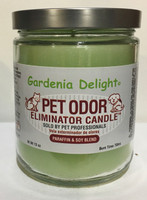 Gardenia Delight Pet Odor Eliminator Candle