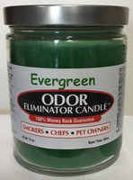 Evergreen Odor Eliminator Candle