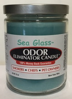 Sea Glass Odor Eliminator Candle