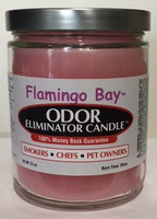 Flamingo Bay Odor Eliminator Candle