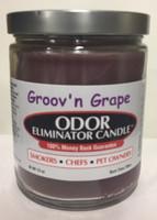 Groov'n Grape Odor Eliminator Candle