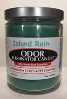 Island Rain Odor Eliminator Candle