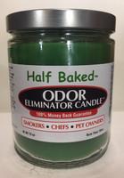 Half Baked Odor Eliminator Candle