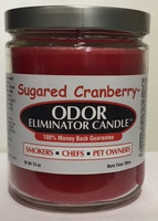 Sugared Cranberry Odor Eliminator Candle