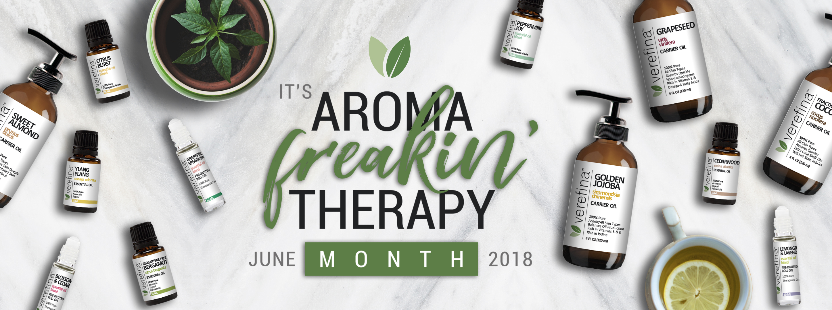 Aroma Freakin' Therapy Month