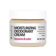 Moisturizing Deodorant Cream 3 oz - Blossoms & Cedar
