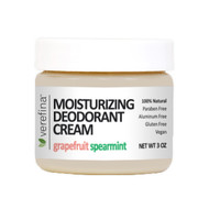 Moisturizing Deodorant Cream 3 oz - Grapefruit/Spearmint