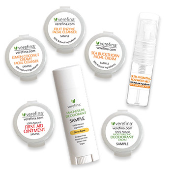 The Hello Pure Sample Gift Set Includes these seven sample sizes...AND MORE! See product description for a list of everything this set includes.