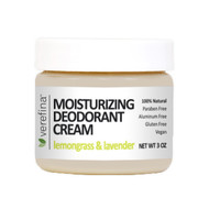 Moisturizing Deodorant Cream 3 oz - Lemongrass & Lavender
