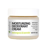 Moisturizing Deodorant Cream 3 oz - Lemongrass & Lavender