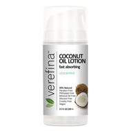 Coconut Oil Lotion - Unscented - 3.5oz