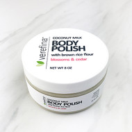 Coconut Milk Body Polish - Blossoms & Cedar