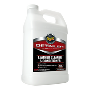 D18001   Detailer Leather Cleaner & Conditioner, 1 Gallon