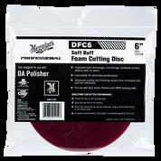 """DFC6   Soft Buff DA Foam Cutting Disc - 6"""""""