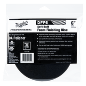 DFF6   Soft Buff DA Foam Finishing Disc - 6""