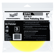 "DFP6   Soft Buff DA Foam Polishing Disc - 6"""