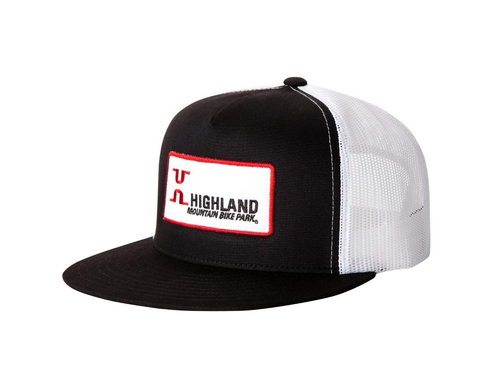 b656a7083 Highland Logo Patch Trucker Cap