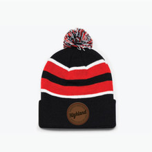 Highland Knit Pom Pom Hat