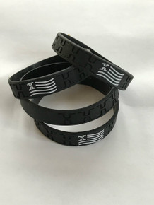Custom Highland Silicone Wristband